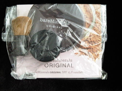 Sample of Bare Minerals Foundation