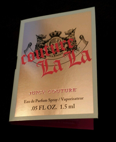 Free Sample of Juicy Couture La La